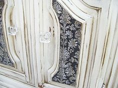 More on furniture refurbishing with list of materials used.