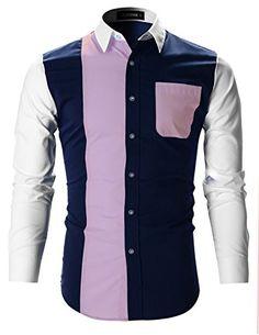 FLATSEVEN Mens Designer Slim Fit Contrast Shirt with Long... https://www.amazon.com/dp/B01I2MNMXE/ref=cm_sw_r_pi_dp_T0fHxbAJBTWED