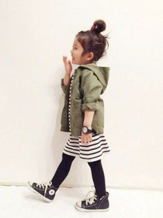 Sweet toddler threads with too cute converse