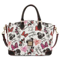 Minnie Mouse Hearts and Bows Satchel by Dooney & Bourke | Bags & Totes | Adults | Disney Store