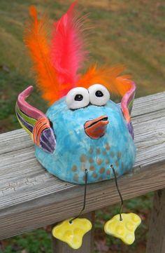 Pinch pot birdies