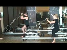Fun Variations for jumping on the Pilates Reformer using the jumpboard! Pilates Workout Youtube, Pilates Videos, Pilates Poses, Pilates Reformer Exercises, Yoga Videos, Pilates At Home, Pilates Body, Pilates Barre, Pilates Studio