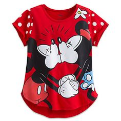 Disney Mickey and Minnie Mouse Tee for Women Disney Themed Outfits, Disney Dresses, Disney Clothes, Women's Clothes, Disney Pajamas, Disney Shirts, Crazy Outfits, Cool Outfits, Cream Tees