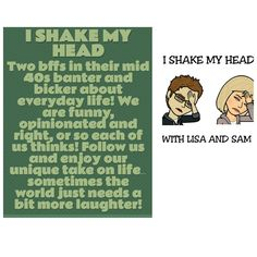 I Shake my Head with Lisa and Sam! #podcast #funnywomen #bestfriends #yxe