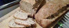 Receita de Pão integral com farinha integral, linhaça e aveia