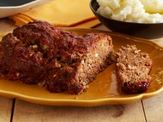 Barbeque Meatloaf - ground beef, bread crumbs, onion, egg, tomato sauce, vinegar, brown sugar, Dijon, Worcestershire -for Steve