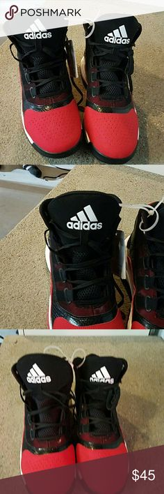 Adidas Gym Shoes Black and Red Adidas Shoes Athletic Shoes