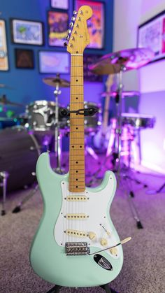 NGD Fender Classic Strat in Surf Green (on my list for 11 years!