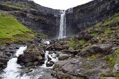 Faroe Islands, Denmark, Waterfall, Outdoor, Outdoors, Waterfalls, Outdoor Games, Rain, Outdoor Life