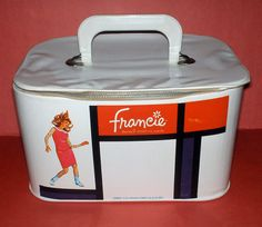 Fab Mod case for Barbie's Francie.     #packaging