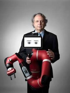 There's a new robot in town. Quotes in the article Jabil Circuit Inc  JBL ▲ 23.28 +0.62 +2.74%  Meet Sawyer, a new robot unveiled Thursday by Rethink Robotics, a Boston-based robotics company aiming to make factories more efficient, safer and more productive.  Weighing in at 41.9 lbs and standing 3.3 feet tall, the one-armed Sawyer is smaller and more flexible than Rethink's only other robot, the double-armed Baxter, which debuted in 2012