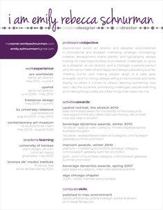 A creative resume done right. Unique Resume, Creative Resume, Creative Design, Cv Design, Resume Design, Graphic Design, Cv Curriculum Vitae, It Cv, Job Resume