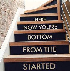 The famous stairway. Photo: Y7 Yoga Studio, NY.
