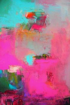 Contemporary Art – Buy Abstract Art Right Pintura Graffiti, Modern Art, Contemporary Art, Pink Abstract, Art Design, Oeuvre D'art, Love Art, Painting Inspiration, Color Inspiration