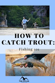 What's the best bait, rod, reel, and technique? Trout are fast and strong so you will need to know their behaviors, maneuvers, and feeding patterns. We are here to give you the information needed on how to catch trout. Trout fishing 101. But, don't be fooled by the name. We will also cover unique facts and tips that even experienced trout anglers will appreciate. Trout Fishing Tips, Fishing 101, Gone Fishing, Best Fishing, How To Catch Trout, Unique Facts, Bait, Exploring, Hunting