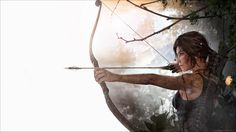 Experience Lara Croft's defining moment as she becomes the Tomb Raider. Available on Xbox One, PlayStation and PC on September Tomb Raider Video Game, Tomb Raider 2013, Tom Raider, Tomb Raider Lara Croft, Rise Of The Tomb, Fanart, Survival, Video Game Art, Games For Girls