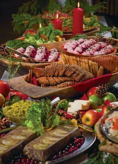 Julbord—A Swedish Christmas Feast at the American Swedish Institute... Don't let anyone fool ya, these Swedes can COOK holiday time ! Make a dinner table cry...