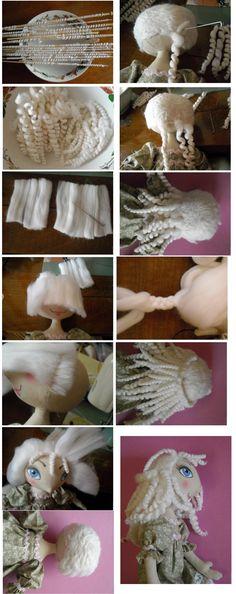 poupée russe 4/4 tutoriel cheveux http://www.livemaster.ru/masterclasses/kukly-i-igrushki/kukly?status=&msec=104&from=30