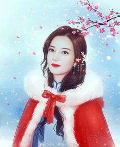 Mother Art, Art Of Beauty, Cute Cartoon Girl, Star Art, Cute Faces, Beautiful Asian Women, Face Art, Asian Woman, Character Art