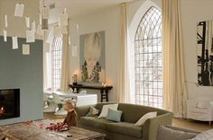 living in a chapel | the style files