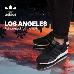 Adidas Los Angeles Black And Gold