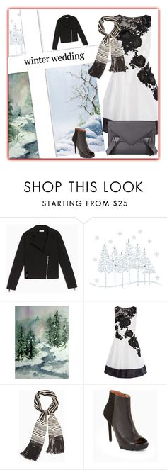 """""""Winter Wedding"""" by peeweevaaz ❤ liked on Polyvore featuring Max&Co. and BCBGMAXAZRIA"""