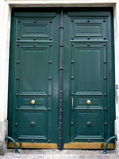 Green Door, Paris, France | by balavenise