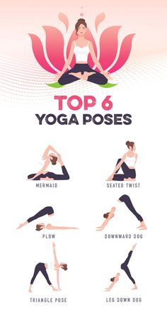 yoga flow is perfect for stress relief because the poses have you slowing down. If you're just starting your yoga practice, you should start with us :) Yoga Flow Sequence, Yoga Sequences, Yoga Style, Basic Yoga Poses, Volleyball Workouts, Yoga Posen, Gym Workout Tips, Yoga Positions, Relaxing Yoga