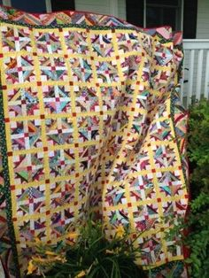 Charity Quilt: Tulip Fields