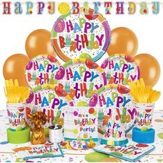 Deluxe Hoopla  Jamboree Birthday Party Supplies Kit for 8