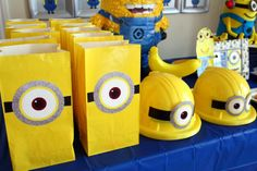 Minion 4th Birthday | CatchMyParty.com