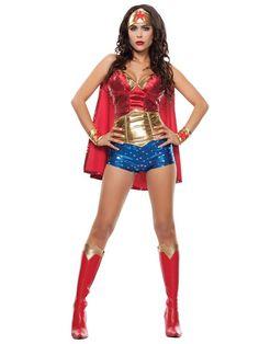 Sexy Women's Wonder Lady Costume