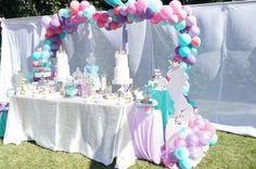 Unicorns Birthday Party Ideas | Photo 1 of 22
