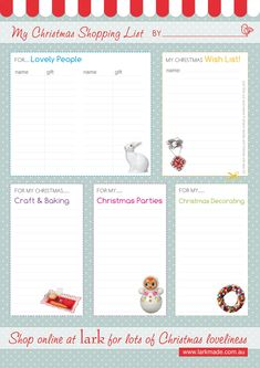 Week #5 – Inventory and List {12 weeks of Christmas Planning } www.247moms.com #247moms