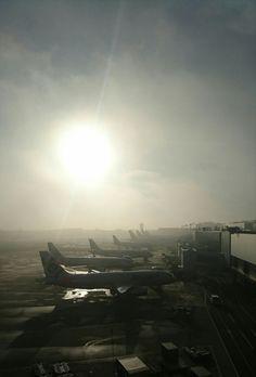 成田の空 Airplane View