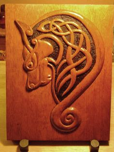 norse wolf carving - Google Search