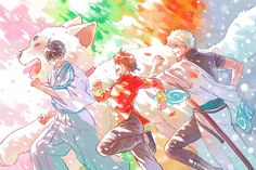 Gintama Funny, Anime Character Drawing, Hyouka, Picture Logo, Blue Exorcist, Fantastic Art, Sword Art Online, Anime Characters, Samurai
