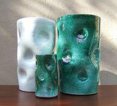 Vintage Vase  Studio Pottery signed Inge by FabulousModerns