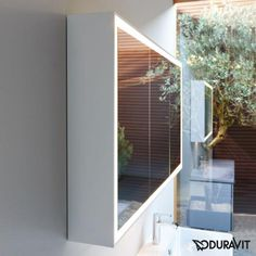 Duravit L Cube Spiegelschrank Mit LED Beleuchtung Mit Waschplatzbeleuchtung