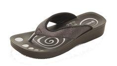 Elegant Aerowalk sort glitter sandal