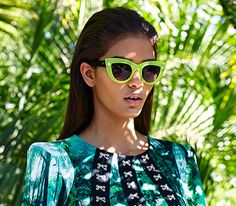 #sun #sunglasses #green #fashion Go to the beach !