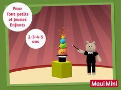 Les jeux de Maui Mini App sont conçus spécialement pour les plus petits.