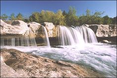 McKinney Falls State Park, near Austin, TX  Took girls camping there over spring break.  Fun place to hike and play.
