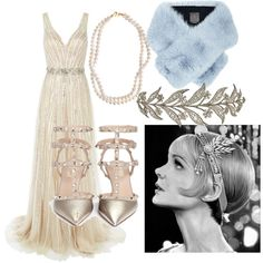 A fashion look from February 2016 featuring Jovani gowns, Valentino pumps and STELLA McCARTNEY necklaces. Browse and shop related looks.