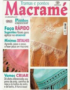 Macramé - Tramas e Pontos #Revista