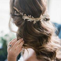 modern renaissance shoot - bridal hair