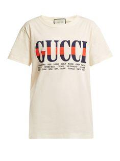 96c5ab8ad71 Logo-print cotton T-shirt