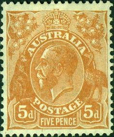 Issued of August 1950 - Series - King George V King George V, Postage Stamps, Old And New, Colonial, Vintage World Maps, British, Australia, Poster, Stamps