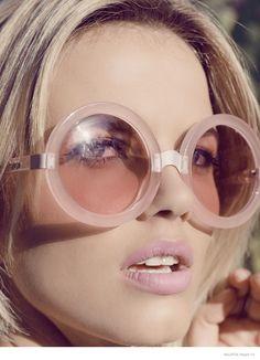 Glasses on Pinterest | Linda Farrow, Bel Air and Black Frames