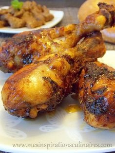 Baked chicken drumsticks (delicious marinade) Source by adrocourt Healthy Dinner Recipes, Cooking Recipes, Cooking Games, Baked Chicken Drumsticks, Marinated Chicken, Food Porn, Good Food, Yummy Food, How To Cook Chicken